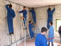 ремонт стен помещений Шелехов